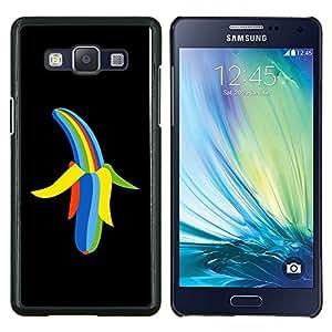 """Be-Star Único Patrón Plástico Duro Fundas Cover Cubre Hard Case Cover Para Samsung Galaxy A5 / SM-A500 ( Enfriar color del arco iris del plátano"""" )"""