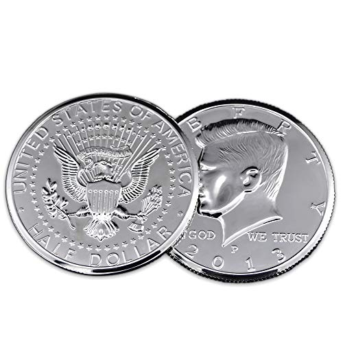 (Doowops Jumbo Coin 3 inch Half Dollar Magic Tricks Coin Appear Disappear Magic Close Up Accessories Illusion Props Gimmick Comedy)