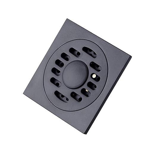 Mamparas de ducha Desagüe del Piso Desagüe del Piso De Metal Negro ...