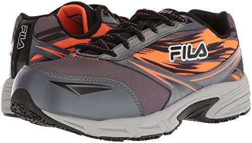 Fila Men's Memory Meiera 2 Slip Resistant Composite Toe Trail Running Shoe  Food Service, castlerock/black/vibrant orange, 13 D US: Buy Online at Best  Price in UAE - Amazon.ae