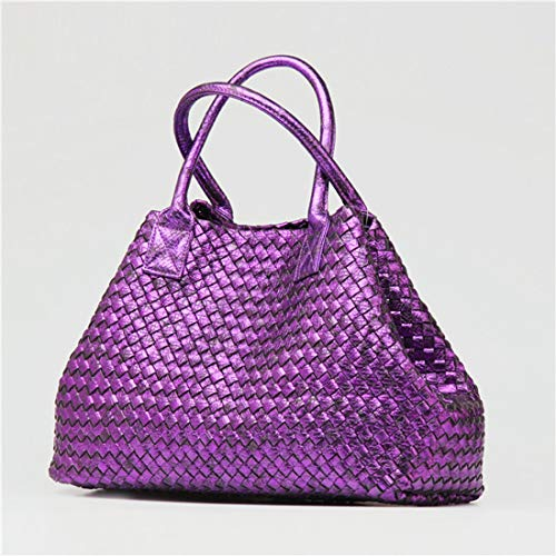 Serpentina Purple A Shopping Joker Igspfbjn color Purple Mano Moda Donna Fatta Borsa BwpUv7q5