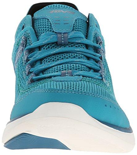 Teva Evo W's - zapatillas de trekking y senderismo de material sintético mujer azul - Blau (733 lake blue)