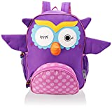 Zoocchini Kids Backpack-Olive The Owl, Purple, One Size
