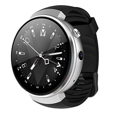 KLAYL Reloj Inteligente 4G Bluetooth SmartWatch Phone Z28 Android ...