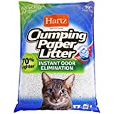 Hartz Multi-Cat Lightweight Recycled Clumping Paper Cat Litter, 9 lbs (Equal to 33 lbs Traditional Clay Litter)