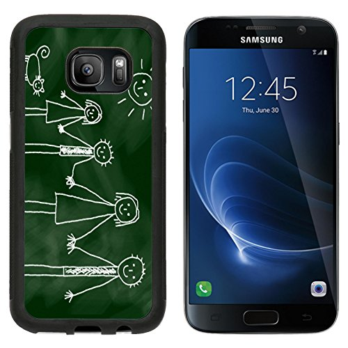 msd-premium-samsung-galaxy-s7-aluminum-backplate-bumper-snap-case-drawing-of-family-image-12219999