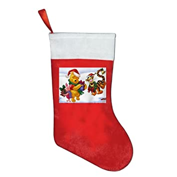 christmas socks gift bags gift bags winnie the pooh christmas christmas decorations santa claus socks candy - Winnie The Pooh Christmas Decorations