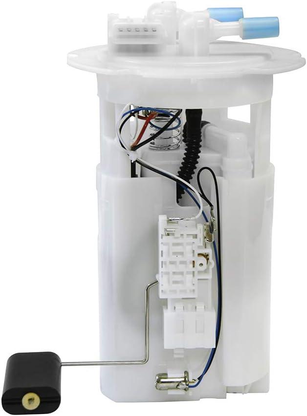 w// 2 Tube Ports Fuel Pump E9184M For Nissan Sentra 2000 2001 2002 2003 2004 2005 2006 L4 1.8L 2.0L 2.5L with Sending Unit 17040-8U002