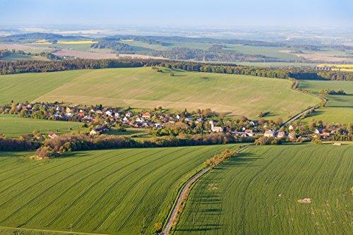 LAMINATED POSTER Aerial Rural Landscape Landscape Poster Print 24x 36