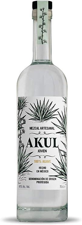 Mezcal Akul Joven 0,7L: Amazon.es: Alimentación y bebidas