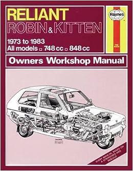 reliant robin manual on line