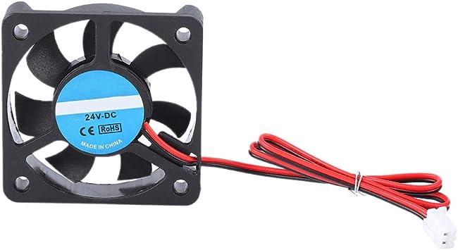 Tihebeyan Ventilador de enfriamiento de Impresora 3D, 2 Pin 24 V ...