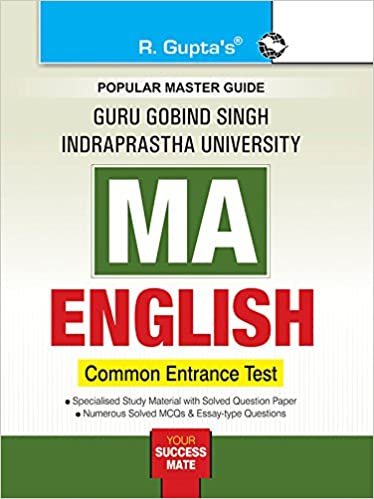 GGSIPU: MA English (CET) Exam Guide