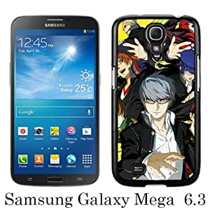 Samsung Galaxy Mega 6.3 I9200 I9205 Screen Case ,Persona 4 Golden Black Samsung Galaxy Mega 6.3 I9200 I9205 Cover Fashion And Unique Designed Phone Case