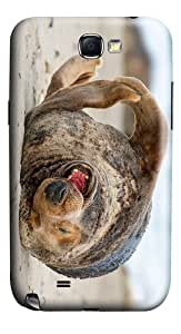 covers original funny sea lion PC case/cover for samsung galaxy N7100/2
