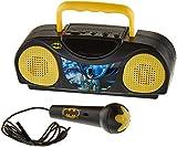 Dc Comics Warner Brothers Radio Karaoke Portable Radio with Microphone