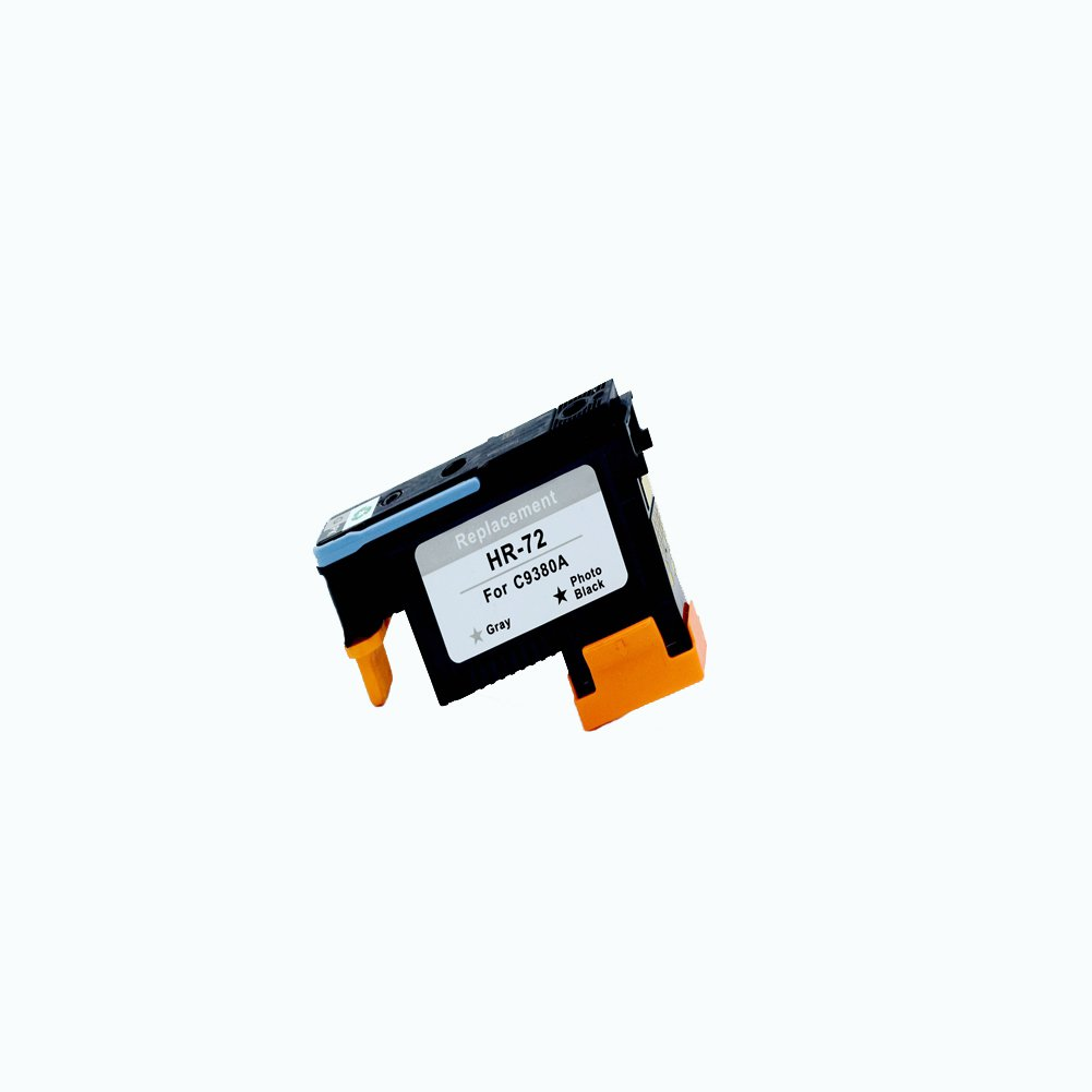 Komada 3X HP72 printheads (1MK/Y+1C/M+1PK/G) with New Updated Chips Compatible with HP Designjet T610 T620 T770 T790 T1100 T1120 1200 T1300 T2300