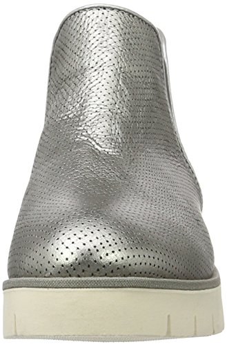 W1285indsor 042 dark Chelsea Silver Hilfiger Argent Tommy Femme Bottes 7a HSazqA5O