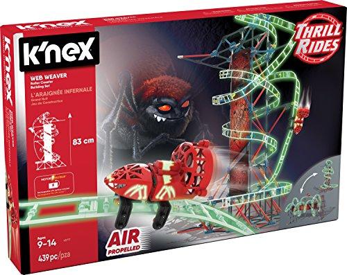 K'NEX Thrill Rides Web Weaver Roller Coaster Building Set (439 Piece) JungleDealsBlog.com