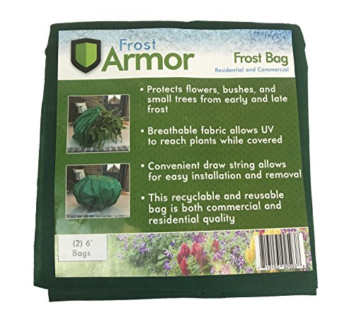 Blanket Frost (Frost Armor Bags (Frost Protection for Plants) 2 Pack)