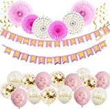 It's A Princess Baby Shower Decorations for Girl - 55 Piece...