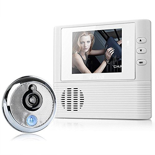 """Ugetde 2.8"""" LCD Electronic Video Doorbell with Camera Mon..."""