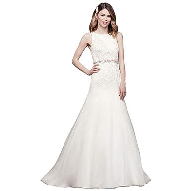 Wedding Dress Create.Lace Tank Mermaid Wedding Dress With Keyhole Back Style Wg3937 At