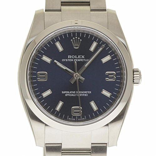 Rolex Oyster Perpetual swiss-automatic mens Watch 114200 (Certified Pre-owned)