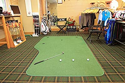 Big Moss Golf THE COUNTRY CLUB 6' X 12' Practice Putting Chipping Green