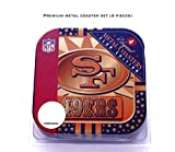 SAN FRANCISCO 49ERS NEOPRENE COASTER SET (4-PACK)