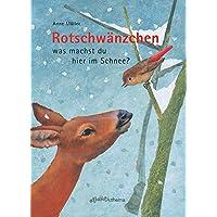 Rotschwänzchen - was machst du hier im Schnee?