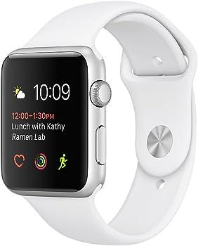 Apple Watch 2 Series 2 42mm Silver Aluminum Case Smartwatch