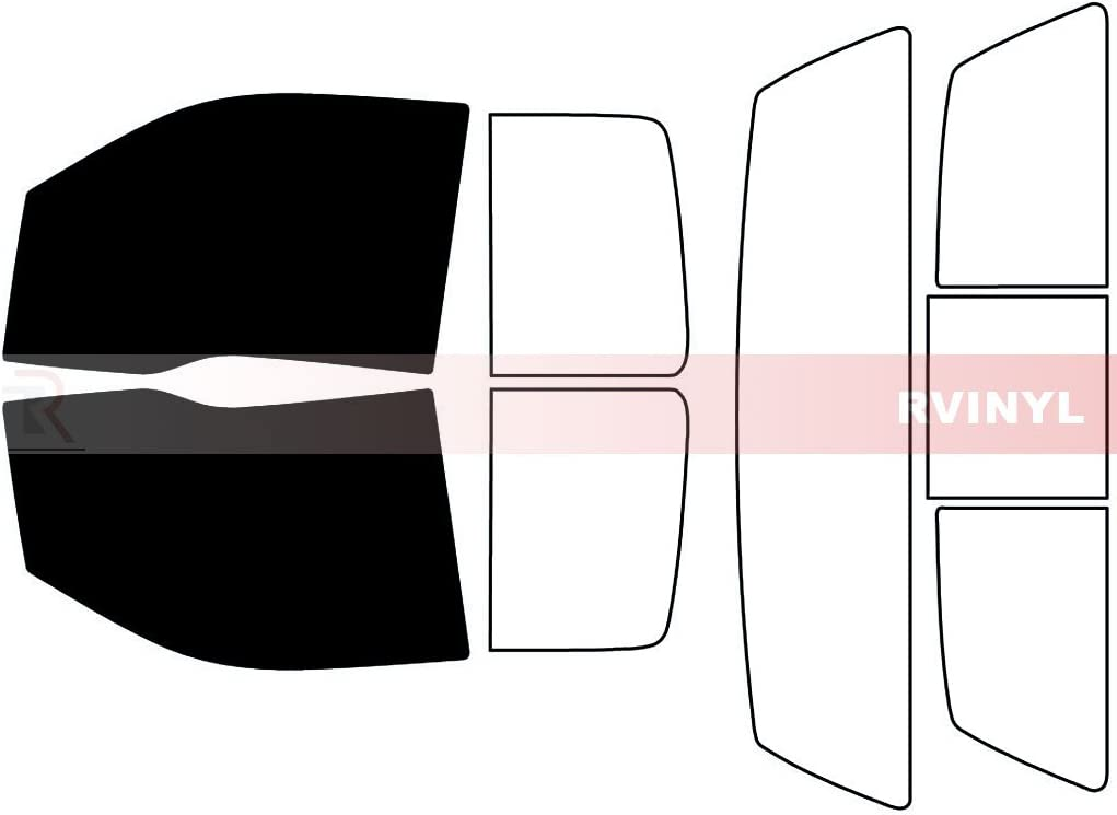 Rtint Window Tint Kit for Ford F-150 2004-2008 5/% - Rear Windshield Kit 4 Door