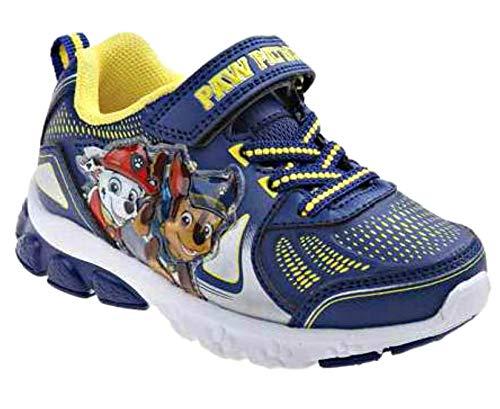 Image of Josmo Kids Baby Boy's Paw Patrol Sneaker (Toddler/Little Kid) Blue 7 M US Toddler M