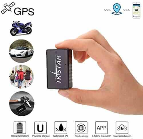 Real Time Vehicle GPS Tracker Personal GPS Tracker TK1000 Waterproof /& SOS Emergency for Kids Adults Elderly Pet Car Vehicle Bike Assets Mini Portable GPS Tracker Tracking Device