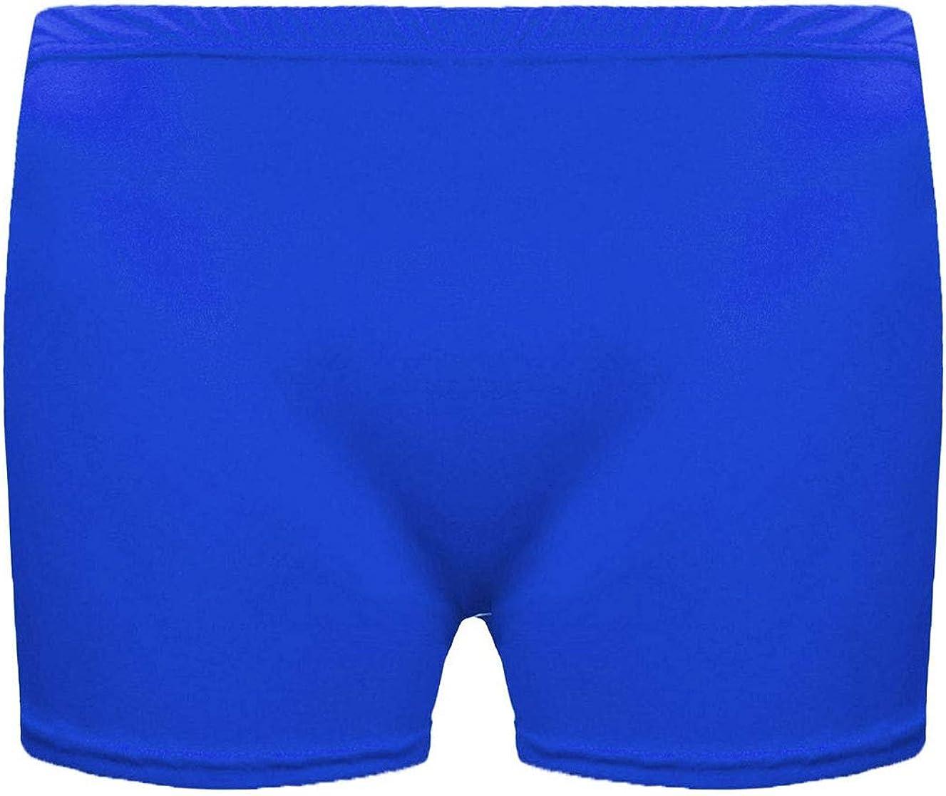 21Fashion Womens Girls Microfiber Hot Pants Shorts Ladies Dance Gym Stretch Shorts