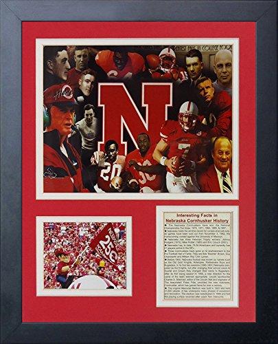 Legends Never Die Nebraska Cornhuskers Greats Framed Photo Collage, 11 by ()