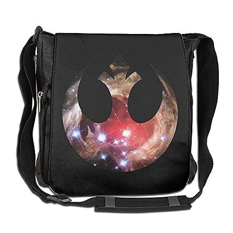 Amurder Custom Star Wars Rebel Alliance Logo Cross Body Bag Pack Messenger Bags Black (Star Wars Rebel Bag)