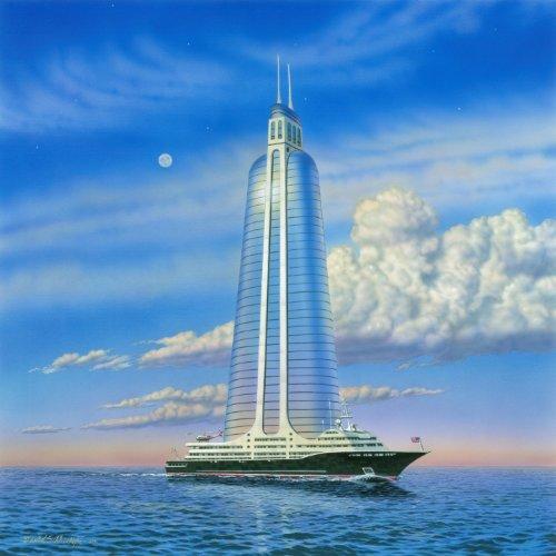 Skyscraper On a Megayacht
