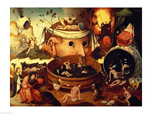 (Great Art Now Tondal's Vision by Hieronymus Bosch Art Print, 24 x 18 inches)