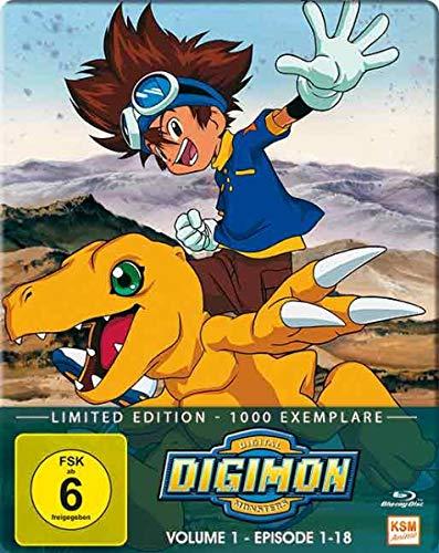 Digimon Adventure - Staffel 1, Volume 1: Episode 01-18 Alemania Blu-ray: Amazon.es: Kakudou, Hiroyuki: Cine y Series TV