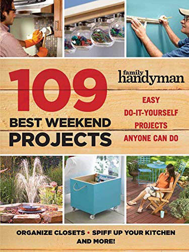 Book Cover: 109 Best Weekend Projects