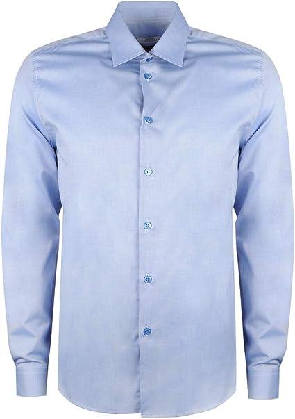 Versace Collection Camisa Trend - V300197DS VT02263 / Camica Trend - 43: Amazon.es: Ropa y accesorios