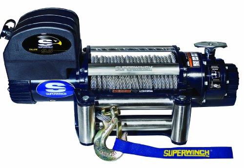 Superwinch 1695200 Talon 9.5, 12 VDC winch, 9,500 lb/4,309 kg capacity with roller fairlead
