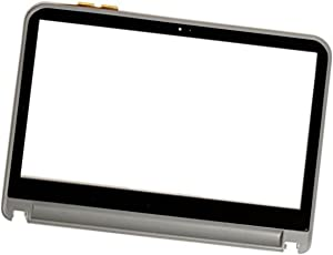 """14"""" Laptop Replacement Touch Screen Panel Glass Digitizer for Dell Inspiron 14R 5421 +BEZEL"""