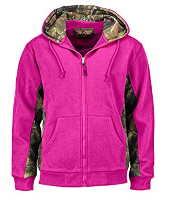 Trail Crest Women's Cambrillo Full Zip Up Hooded Sweatshirt Jacket