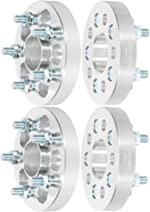 SCITOO 4X 1 inch 5 Lug 5x100 25mm Hubcentric Wheel Spacers