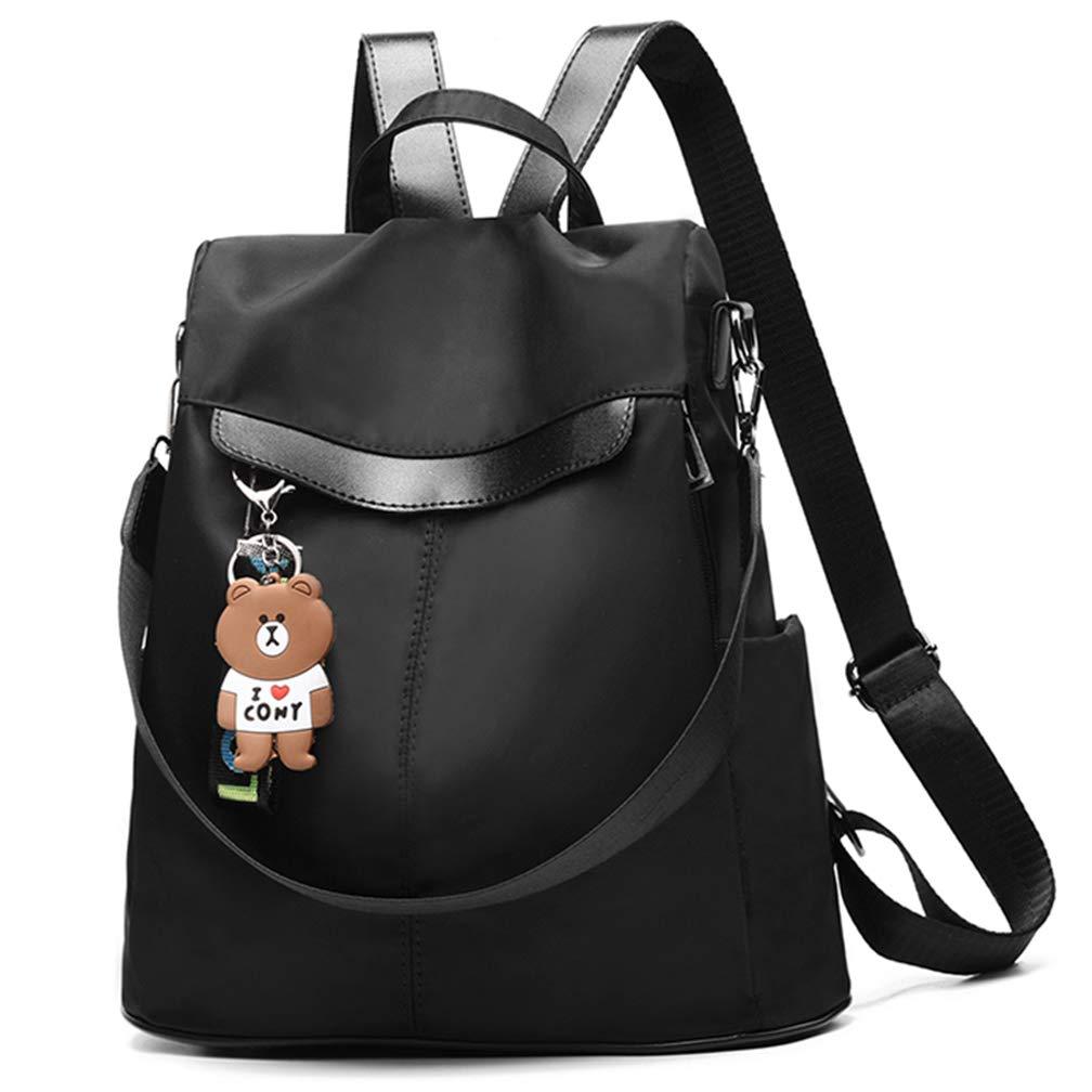 Women Backpack Purse Nylon Anti-theft Waterproof Casual Rucksack Lightweight School Shoulder Bag