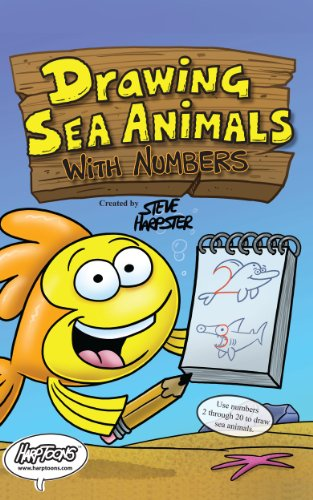 Drawing Sea Animals With Numbers Kindle Edition By Steve Harpster