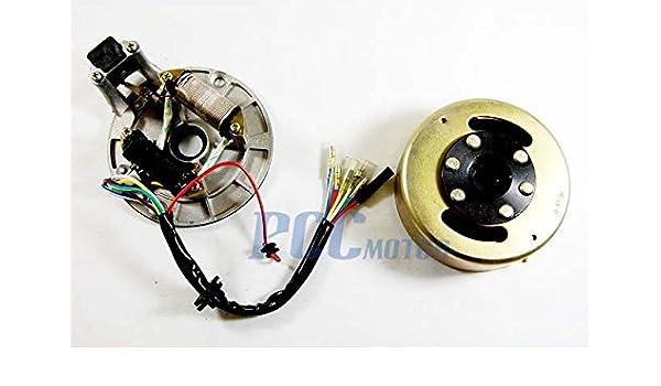 amazon com 4la ignition stator flywheel for lifan 90 110 125 138 rh amazon com